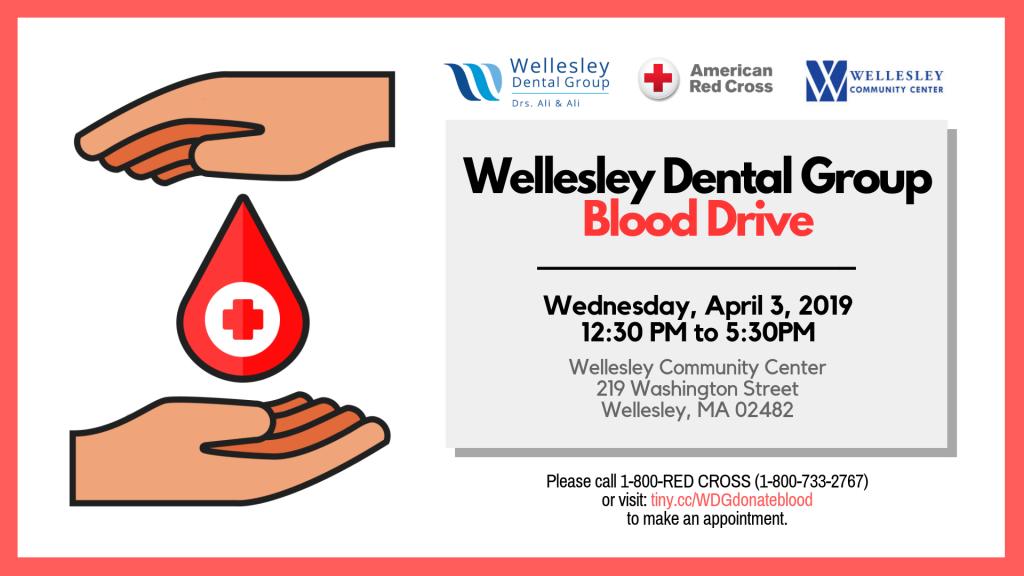 897841807 Wellesley Dental Group Hosting Community Blood Drive | Wellesley ...