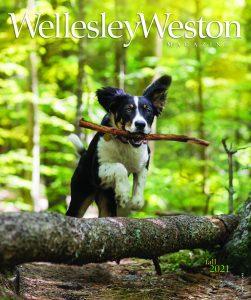 WellesleyWeston Magazine Fall 2021 Cover page
